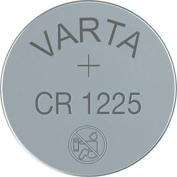CR1225 (6225) - Lithium-Knopfzelle, 3V Varta